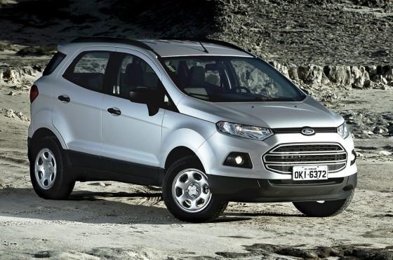 La nueva Ford EcoSport en versión SE.