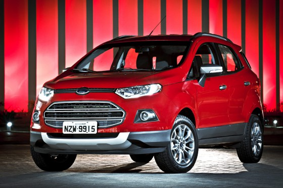 As� es la Nueva EcoSport en versi�n Freestyle.