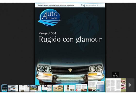 Ya está on line el número seis de Autohistoria, la revista de los autos históricos argentinos