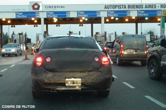 El nuevo Citroën C4 ya está rodando en Argentina - Foto: Cosas de Autos