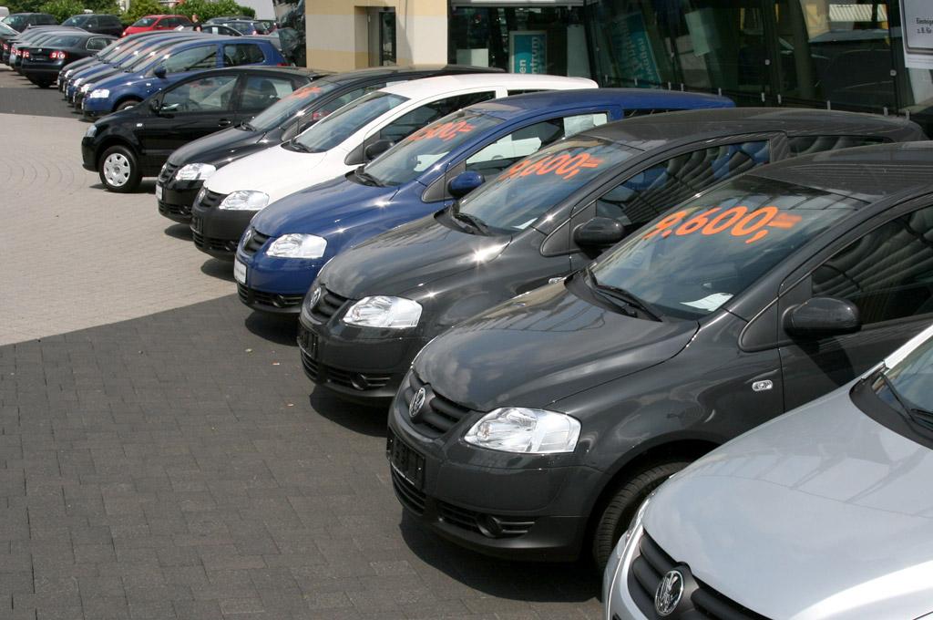 Playa de autos usados Volkswagen