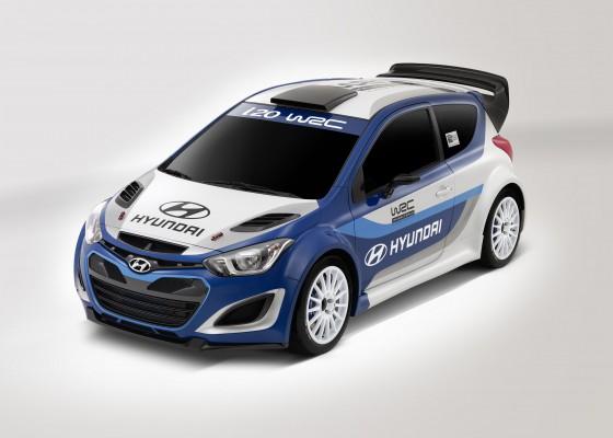 Hyundai vuelve al Campeonato Mundial de Rally con el i20