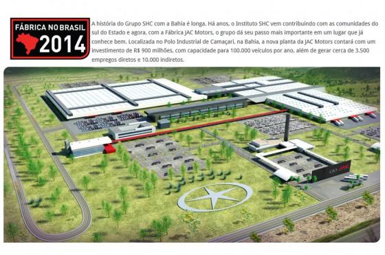 La china JAC confirmó su radicación en Brasil