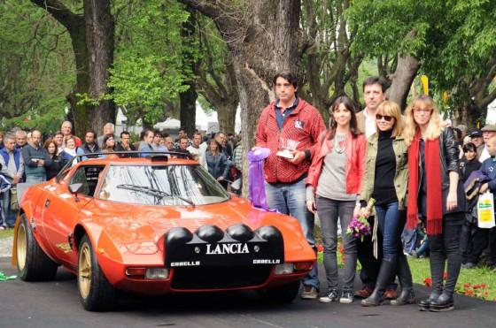 Un Lancia Stratos HF 1974 fue el ganador del Premio Germán Sopeña