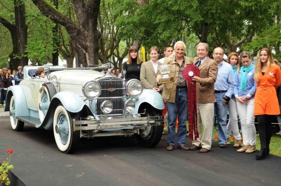 Autoclásica 2012: el Best of Show fue para un Stutz 1929