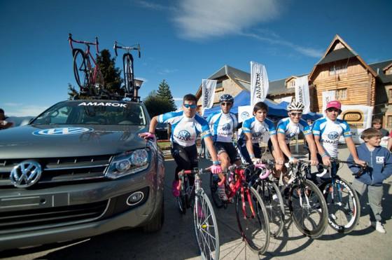 Amarok acompañó La etapa argentina del Tour de France