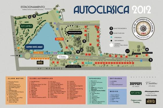 Plano de Autoclásica 2012