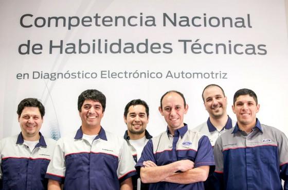 Ford Argentina eligió a los mejores técnicos de su red de posventa