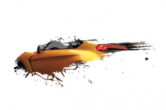 Imagen teaser del concept car que presentará Nissan en el Salón de San Pablo 2012