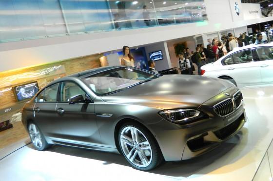 El BMW 650 Gran Coupe presentado en el Salón de San Pablo 2012.