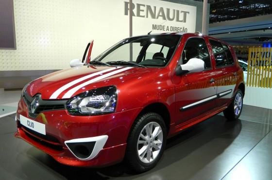 Renault Clio Mío en el Salón de San Pablo 2012.