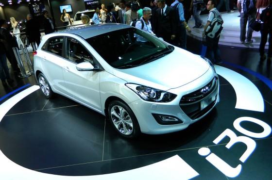 Nuevo Hyundai i30 en el Salón de San Pablo 2012
