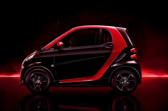 smart coupé sharpred