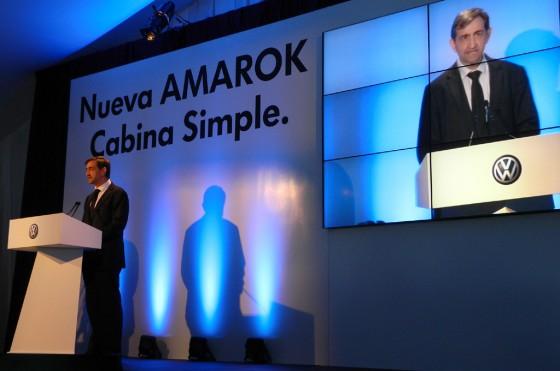 El nuevo presidente de Volkswagen Argentina, el español Emilio Sáenz.
