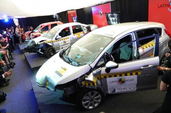 LatinNCAP Fase III: los resultados de los crash test siguen siendo bajos aunque hay mejoras