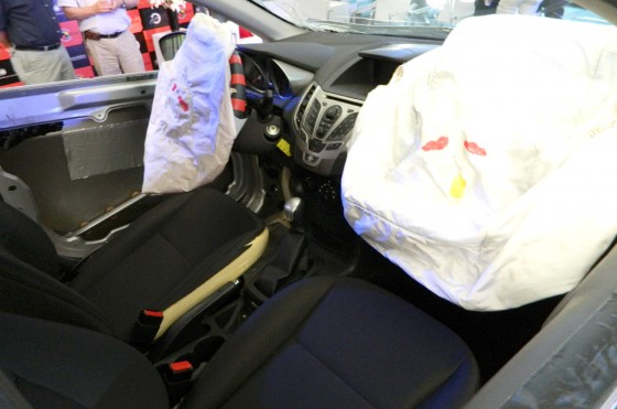 Comportamiento de los los airbags frontales en los ensayos de crash test de LatinNCAP.