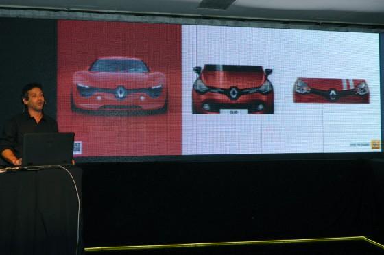 Del concept Dezir al Clio IV y al Clio Mio, así se aplicó la nueva identidad de marca de Renault.