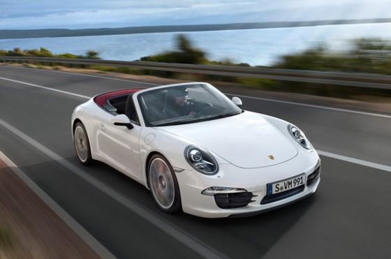 Porsche Carrera S Cabrio 2012