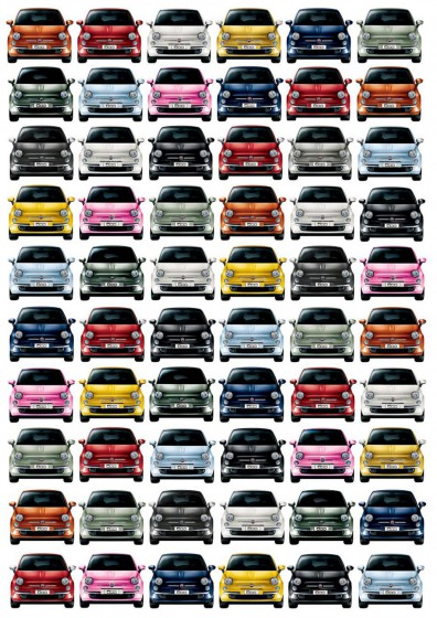 Ya se fabricaron un millón de unidades del Fiat 500