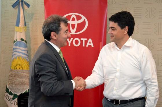 Toyota y Vicente López, juntos por la educación vial