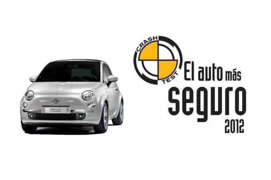 Autos más seguros 2012: el Fiat 500 se alzó con el Oro