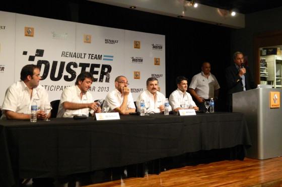 Con el Duster, Renault Argentina apunta a estar entre los 15 primeros del Dakar
