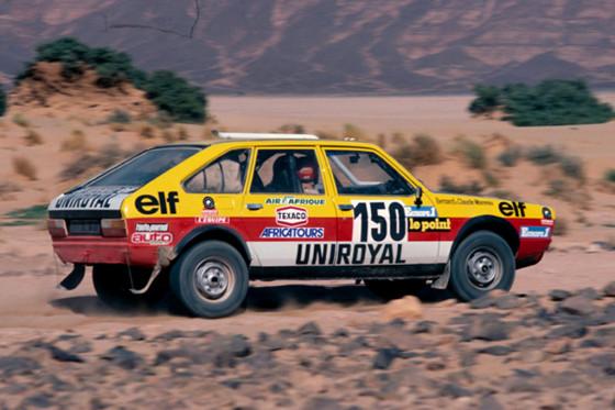 El Renault 20 4x4 que corrió en el París-Dakar de 1982.