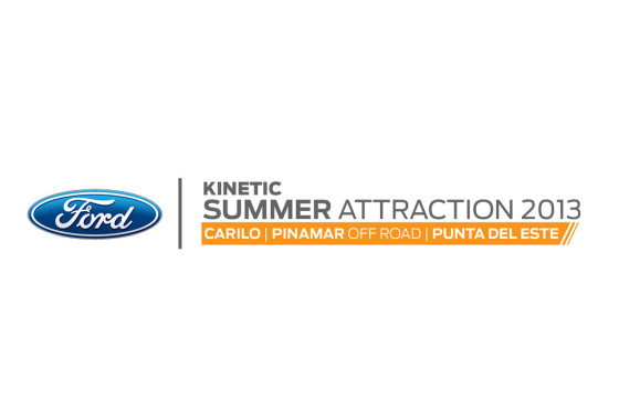 Verano 2013: el Ford Kinetic Summer Attraction estará en Pinamar, Cariló y Punta del Este