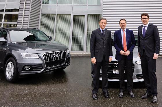 Audi, auto oficial del Comité Olímpico Internacional hasta 2016