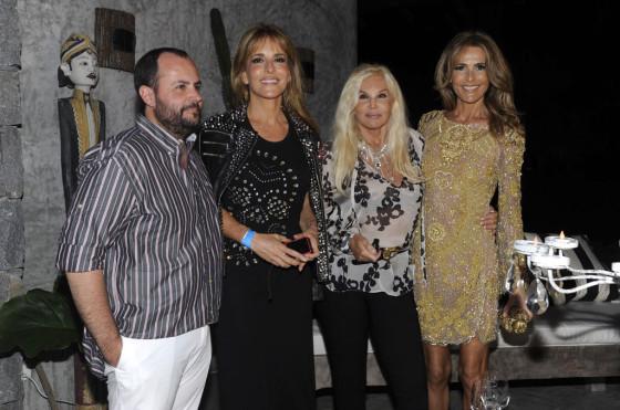 Verano 2013: Mercedes-Benz le puso color a la noche de José Ignacio