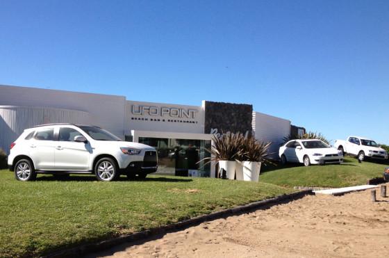 Verano 2013: Mitsubishi nuevamente en el UFO Point de Pinamar