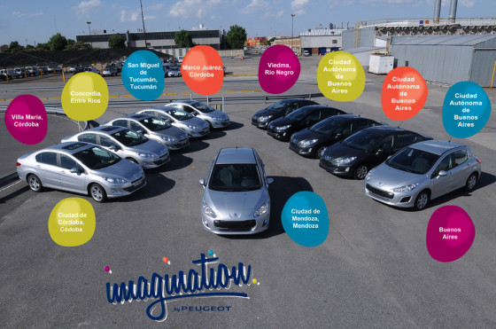 RSE: en 2012, Peugeot Argentina donó 41 autos y recorrió más de 80 mil km.