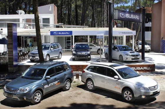 Verano 2013: fuerte apuesta de Subaru en Cariló; el New XV llega en febrero