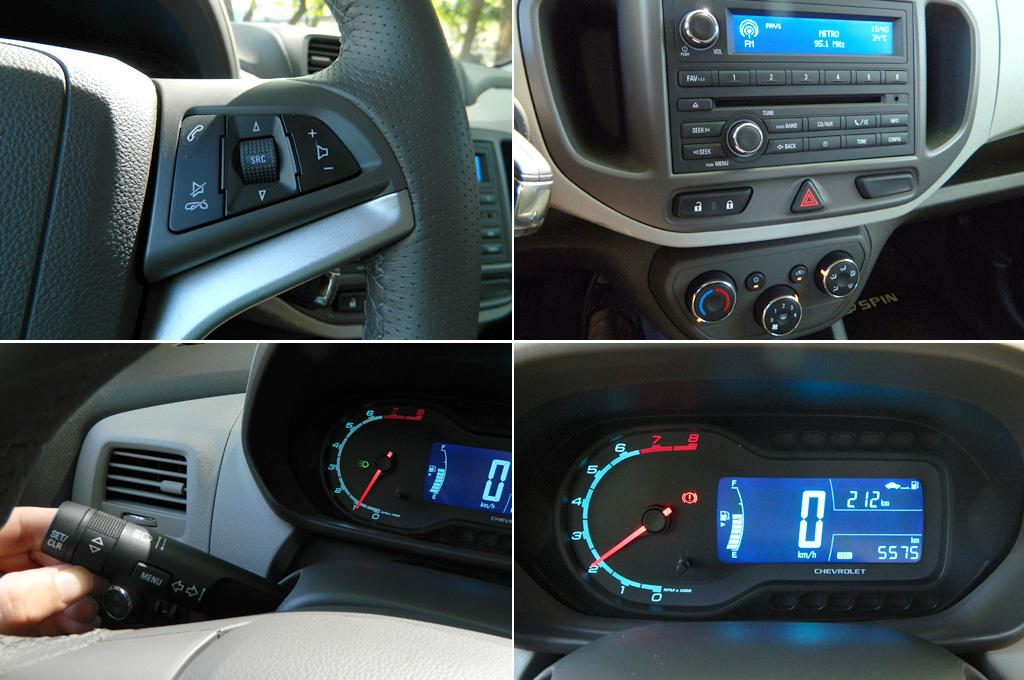 Test Cosas De Autos Prob La Chevrolet Spin De 7 Plazas