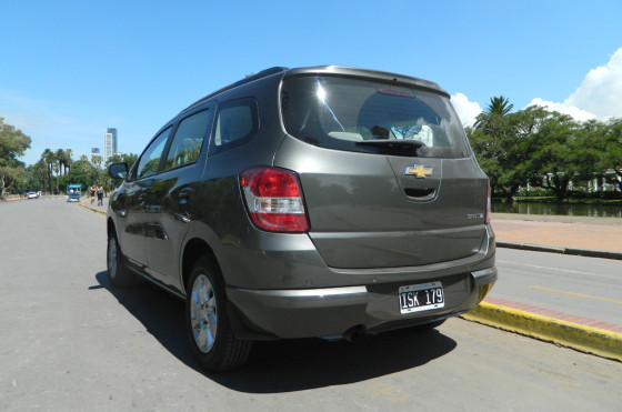 Test drive Chevrolet Spin 7 plazas
