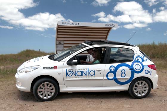 Verano 2013: Peugeot llevó a 35.698 pasajeros con su acción #207CompactLevanta