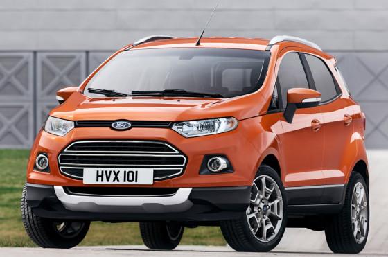 La Ford EcoSport europea debuta en el Salón de Ginebra