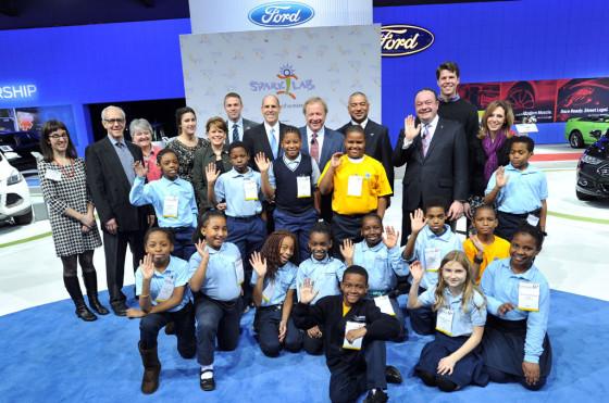Ford apuesta a la innovación: importante donación al Programa Smithsoniano Spark!Lab