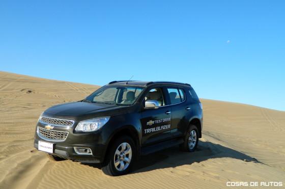 Contacto con la Chevrolet Trailblazer