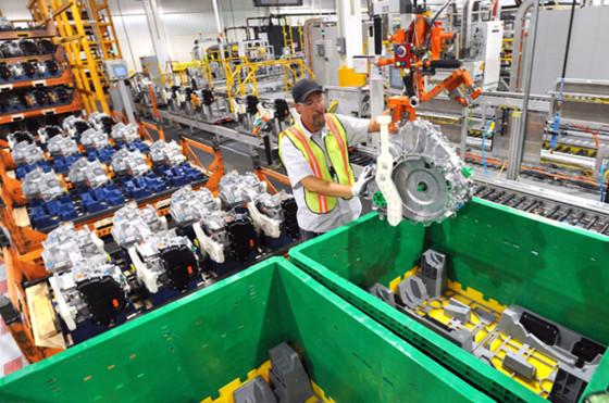 Ford anuncia que reducirá en un 40% los desechos por vehículo