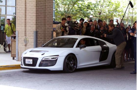 Autos y cine: en la tercera parte, Iron Man se vuelve a subir a un Audi