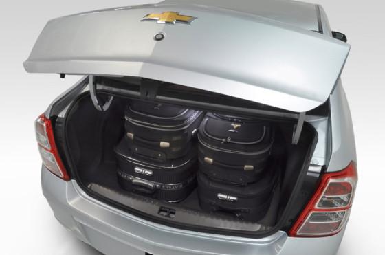 Baúl del Chevrolet Cobalt.