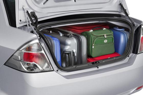 Baúl del Ford Fiesta MaxOne