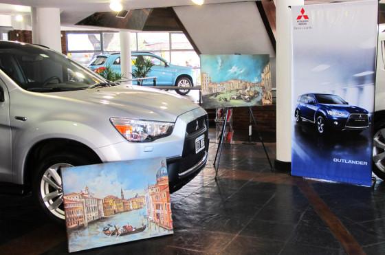 Mitsubishi presenta la muestra de Florencia Vannucci