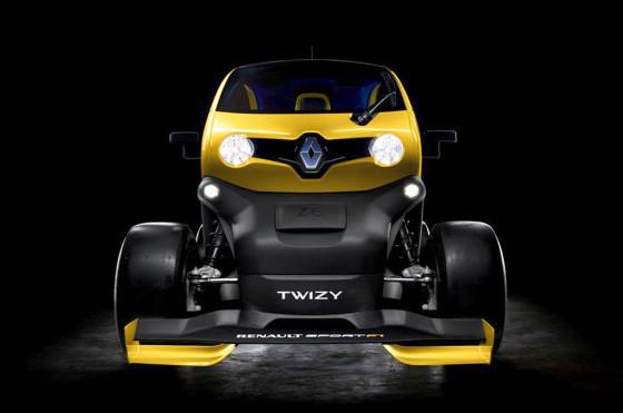 Renault presentó el concept Twizy RS F1