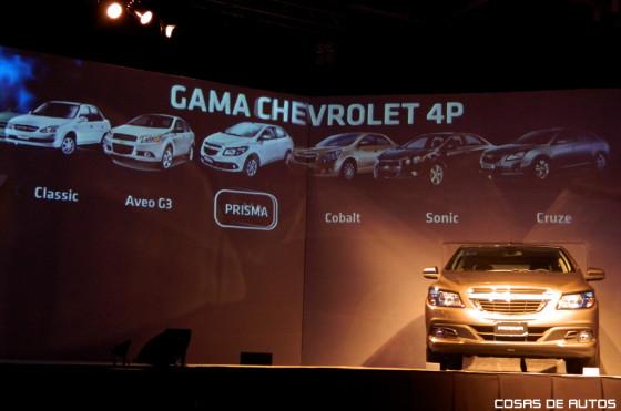Así quedó la gama sedán de Chevrolet