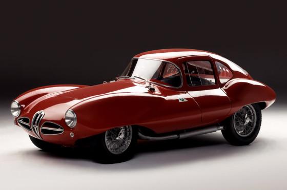 "Alfa Romeo 1900 C52 ""Disco Volante"" de 1952."