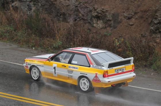 Audi celebró el 30 aniversario de su triunfo en el Rally de Argentina