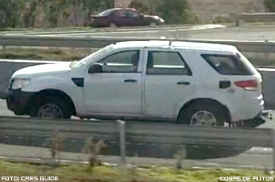 Ford Everest visto en Australia . Foto: Cars Guide