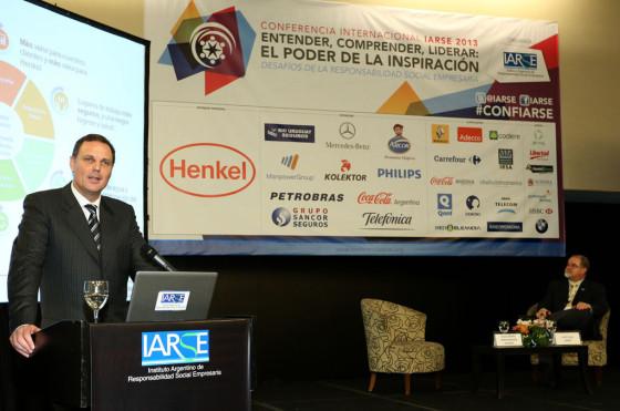 Guillermo von Bergen, vice-presidente de Henkel Argentina.